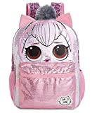 LOL Surprise Queen Kitty Backpack for Girls - 16 Inch - LOL School Bag Elementary School Size