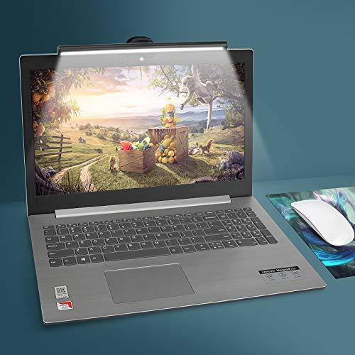 Laptop Monitor Lampada per LED, Lampada USB per Gli Occhi per schermi di Notebook, Lampada da Lavoro con Luce salvaspazio per Ufficio a casa, 10 luminosità e 3 Livelli di Temperatura Colore