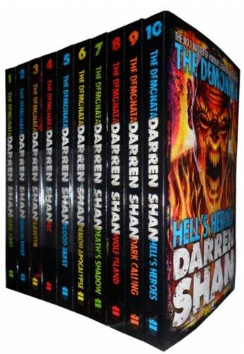 Darren Shan Demonata Collection Set Pack, 10 Books Set, (Bec, Blood Beast, Dark Calling, Death's Shadow, Demon Apocalypse, Demon Thief, Hell's Heroes, Lord Loss, Slawter, Wolf Island) [Paperback] Darren Shan