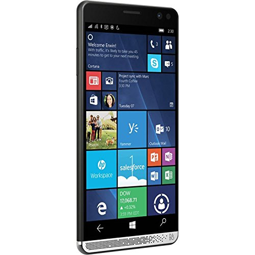 HP Elite X3 Windows 10 Mobile 4GB 64GB Hand PC Tablet and Unlocked Business Phone With HP Elite X3 Desk Dock Renewed