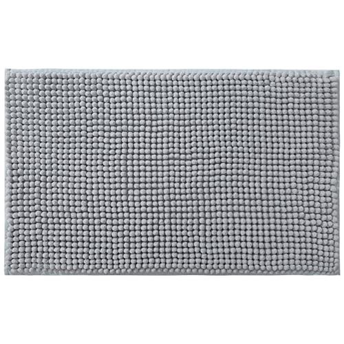 Alfombra De Baño Antideslizante WC Alfombra De Baño Mullida Lavable A Máquina Y Plegable Suave Y Cómoda Adecuada para Sala De Estar Baño Ducha 50x80cm (Color : Dark Gray, Size : 40x60cm)