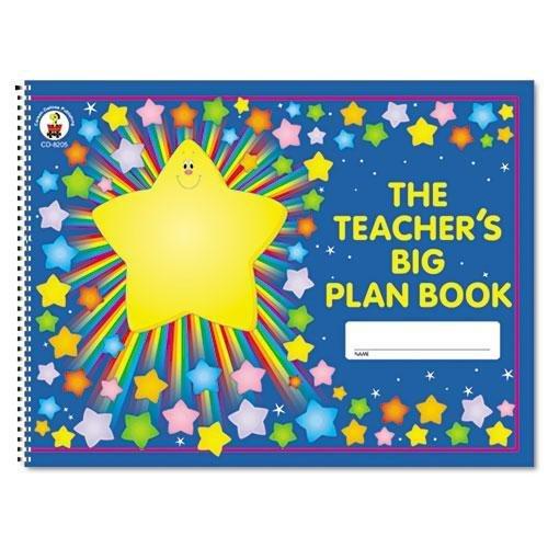 Lesson Plan Book, 42-Week, Wirebound, 9-1/4 x 13, 96 Pages