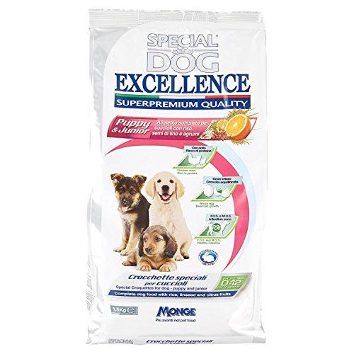 Monge - Special Dog Excellence, Puppy & Junior, 1,5 KG, 1 Confezione