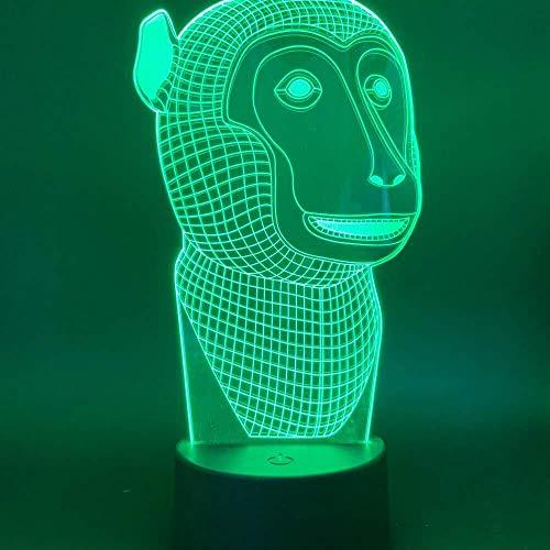 3D illusie nachtlampje bluetooth Smart Control 7 en 16 m kleur mobiele app LED Vision leuke nieuwigheid pup schat bureau kinderen slaapkamer decoratie kinderen verjaardag