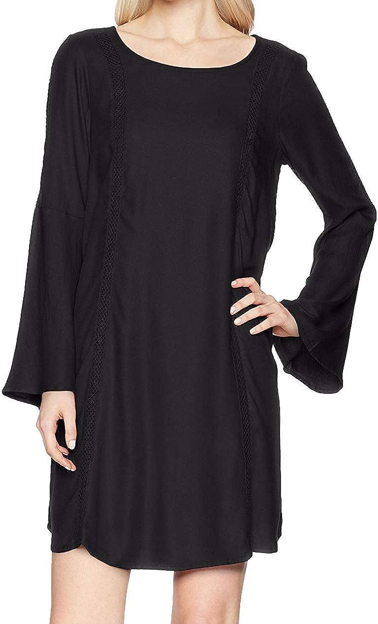 Roxy Women's East Coast Dreamer Printed Long Sleeve Dress