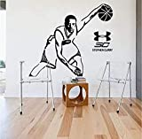 Tapete Basketball Curry Room Decor Wandaufkleber Fan