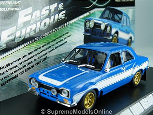 Fast & Furious Brian'S 1974 Ford Escort Rs2000 Mk1 1/43 Packaged Issue K8967Q#