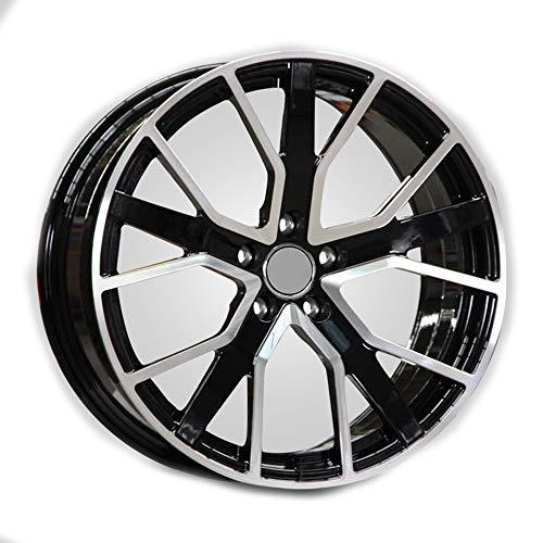 GYZD Alu Felgen 17 Zoll Durchfluss geschmiedete Radlegierung Ersatzrad Auto Rad Maschine Aluminium Felge Passend für R17 *7.5J Reifen Geeignet für a4l a6l a3 a4 a7 a5 q7 1 Stück,H