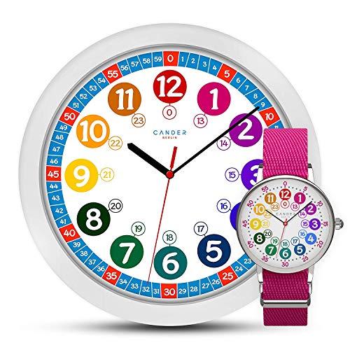 Cander Berlin MNU 1030 - Reloj de pared infantil y MNA 1030 M