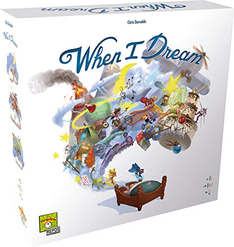 Asmodee- When I Dream, RPWID01FR, Juegos Familia