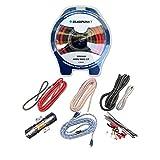 Blaupunkt AMK44R Car Audio Amplifier 4 Gauge Wiring Kit RED
