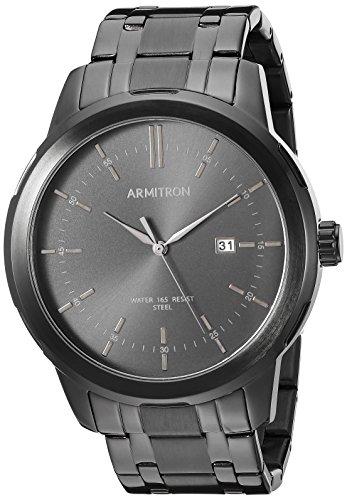 Armitron Men's 20/5245BKTI Date Function Black Bracelet Watch