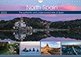 North Spain, the authentic and undiscovered side of Spain (Wall Calendar 2022 DIN A4 Landscape): Beyond a typical beach holiday, the North of Spain ... and seascape. (Monthly calendar, 14 pages )