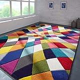 Flair Rugs Alfombra, Polipropileno, Multicolor, 120 x 170 cm