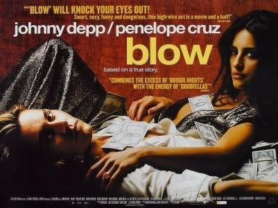 BLOW - JOHNNY DEPP - UK MOVIE FILM WALL POSTER - 30CM X 43CM PENELOPE CRUZ