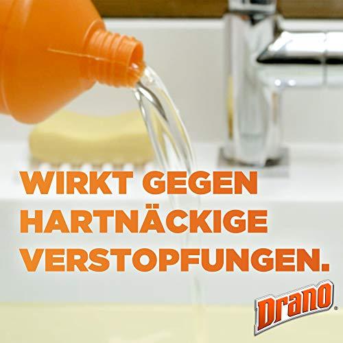 Mr Muscle Flüssiger Rohr-Reiniger, Für alle Rohrarten gegen starke Rohr-Verstopfungen, 1000 ml, Mr Muscle Drano Max Power-Gel Rohrfrei - 3