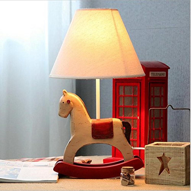 ZHIYUAN Nachttischlampen Dimmen Kinder Schlafzimmer warme und schöne Mode kreativ Tischleuchte , rot B072N81649 | Exquisite Handwerkskunst