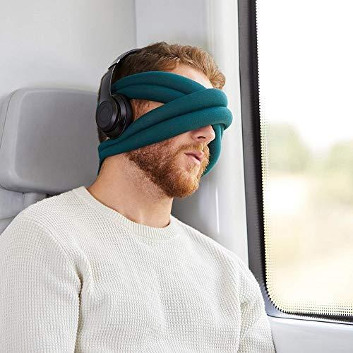 OSTRICH PILLOW Loop Augenmaske Kissen für Schlaf, Yoga & Meditation - Reisezubehör für Zuhause, Büro, Auto, Power Nap für Damen und Herren