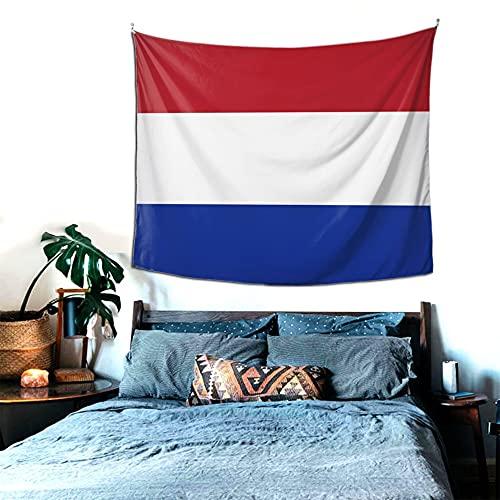 Niederlande Wandteppich, Heimdekoration, Wandbehang, Tagesdecke, Picknickdecke, für Schlafzimmer, Wohnzimmer, Schlafsaal, Yoga, Meditation, 152 x 130 cm