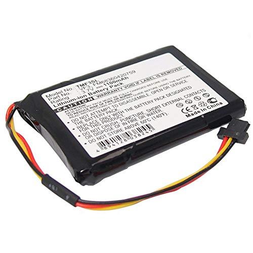 subtel® Batería de Repuesto VF3,VF3F, FM68360420759 Compatible con Tomtom GO XL 310 GO XL 330 Quanta, 1100mAh Accu GPS Pila sustitución Battery