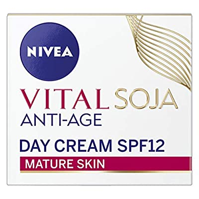 NIVEA Vital Soja Anti-Age Face Cream for Mature Skin, 50 ml by Beiersdrof Uk Ltd