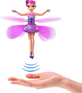 ARTIFUN Induction Control Flying Fairy Doll Toy, Induction Hand Suspension Light Up Fly Dolls for Kids Girls Boys Gifts