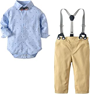 Bebé Niños de hasta 24 Meses Conjuntos Trajes y Americanas Esmóquines Ropa Pantalones
