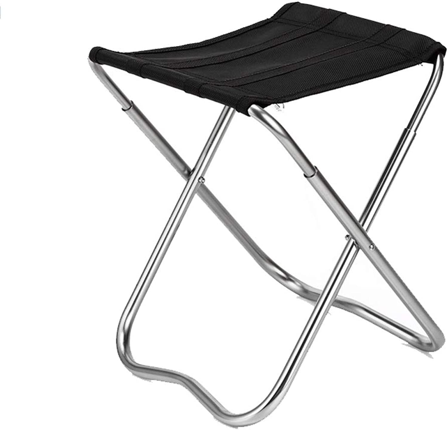 Fishing Fishing Chair Leisure Portable Thickening Solid Folding Mazar Chair Stool Fishing Stool Small Maza Black
