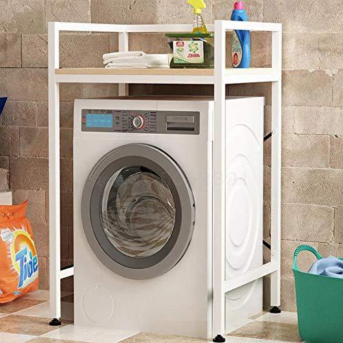 TOFARCH Balcony Washing Machine Shelf Landing Receives Storage Cabinet Wave