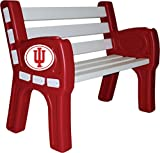 Imperial Officially Licensed NCAA Furniture; Park Bench, Indiana Hoosiers