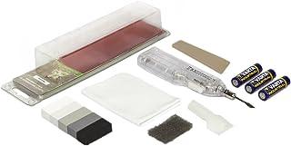 Picobello G61650 - Kit de reparación de azulejos de pared o suelo (tamaño pequeño), color blanco y gris