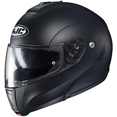 HJC Solid Men's CL-MAX 3 Modular Street Motorcycle Helmet - Semi Flat Black/Large