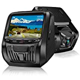 Dash cam, 1080P Full HD Dashboard Camera with Super Night Vision 3 Inch IPS Screen Car Camera G-Sensor, WDR, Loop Recording, Motion Detection, Adapter with USB Output