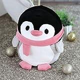 DJSK Cuscino Morbido 1 pz 30 cm Simpatico Pinguino Giocattoli di Peluche Morbido Cotone Q Versione Bambola Animale Giocattoli Kawaii per Bambini Regalo Adorabile per Bambini