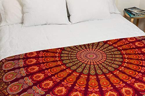 momomus Mandala Wandteppich - Handgemacht mit...