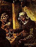 Los Comedores de Patatas Agenda Annual 2020: Vincent van Gogh | Planificador Semanal | Pintor Holandés | 52 Semanas Enero a Diciembre 2020 | Post Impresionismo