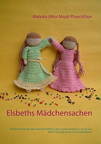 Elsbeths Mädchensachen: Elsbeth liebt Kleider über alles! Vom Ballkleid, übers Sommerkleidchen, bis hin zum Ballett Tütü, gibt es hier viel auszuprobieren. (Meine Puppe Elsbeth)
