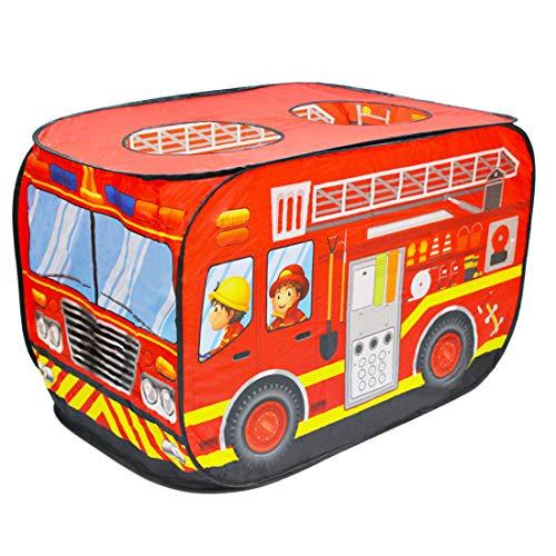 deAO Casa dei Giochi Tende per Bambini Design Pop Up Auto-Armante Montaggio Rapido, attività Ricreative al Coperto e all'Aperto Area Ricreativa per Ragazzi e Ragazze