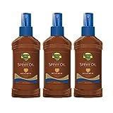 Banana Boat Sunscreen Deep Tanning Oil Broad Spectrum Sun Care Sunscreen Spray - SPF 8, 8 Ounce (Pack of 3)