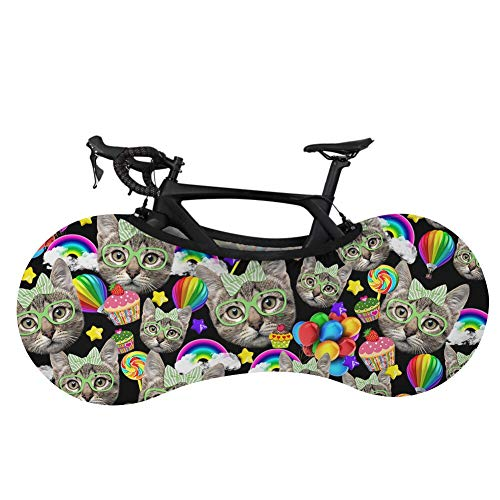 Bicycle Wheel Cover, Dust-proof Bicycle Indoor Storage Bag, Scratch-resistant, Washable High-elastic Dust-proof Bicycle Storage Bag, Scratch-resistant Gear Tire Packaging. (A)