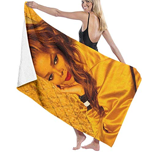 Beach Towel Toalla Deportiva, Adultos Unisex, Janet Jackson Janet Beach Towel Soft Towel | Perfect for Swimming, The Beach Or Bath Time, Multi, 32' X 52'