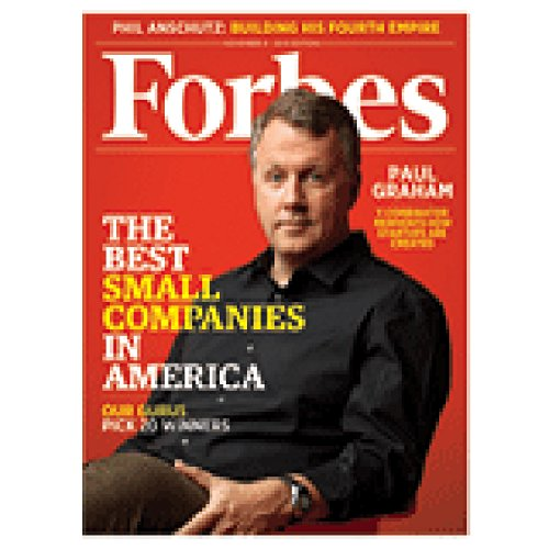 Forbes, October 25, 2010 cover art