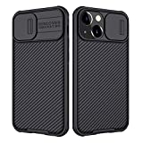Nillkin CamShield Pro Hülle kompatibel mit iPhone 13 Mini, [Kameraschutz] mit Slide Camera Cover, Slim Stylische Schutzhülle Kompatibel mit iPhone 13 Mini 5,4 Zoll Schwarz