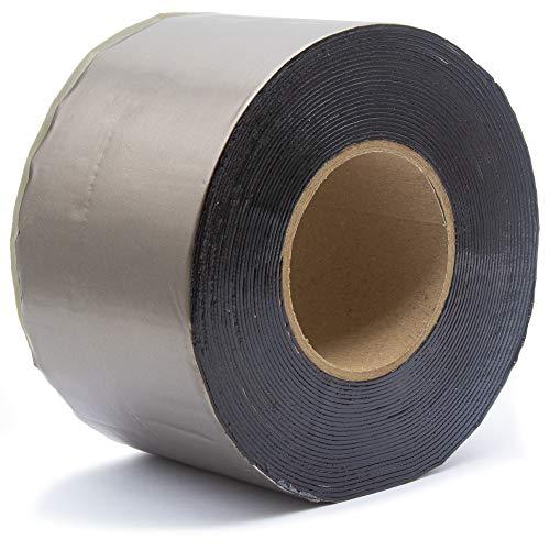 SILISTO Bitumenband Reparaturband 150 mm x 10 Meter, Farbe Blei