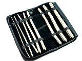 Premium German Set of 8 Hegar Dilator Sounds Set 7.5' Double Ended Instrument (Double Ended)