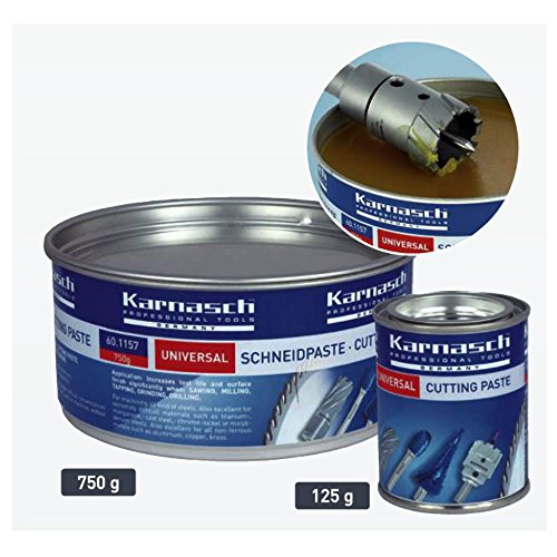 KARNASCH Universal Schneidpaste chlorfrei 125g Dose MECUT FOAM Hochleistungsschneidpaste 601159
