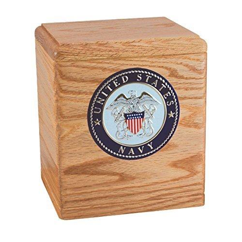 Oak Freedom Navy Urn