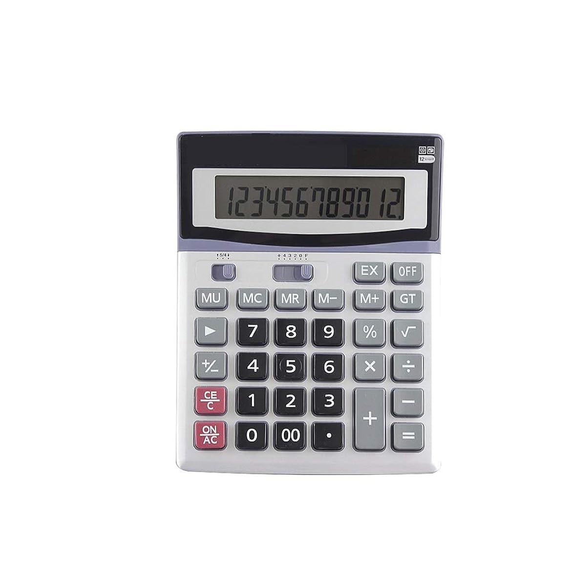 船酔いすごい六月RJ HOME 金融会計計算機 12桁表示 電卓 オフィス用品