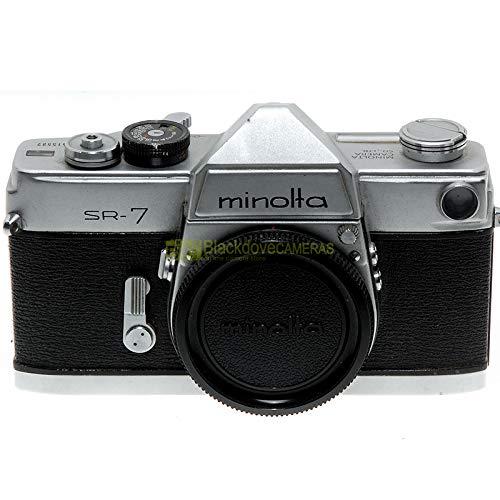 Minolta SR-7 Body Reflex de película de obturador mecánico. Cámara