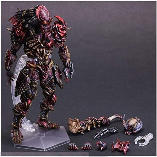 YSDHE Modelo de Juguete artesanía Iron Warrior Predator con Soporte Anime componente Modelo de Juguete